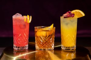Septembers Featured Cocktails Trio