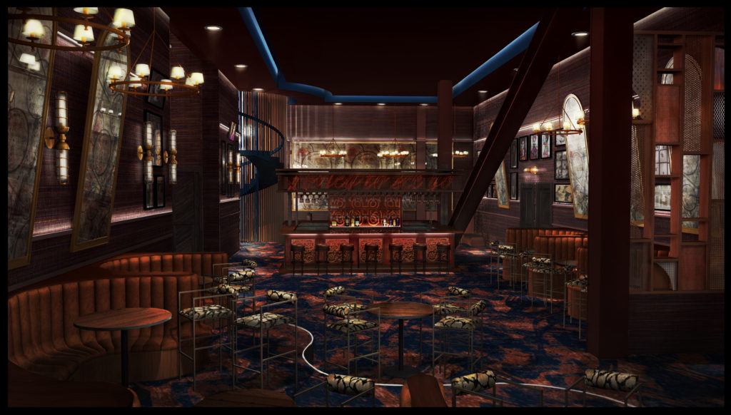 Magic Mike Live Theatre rendering