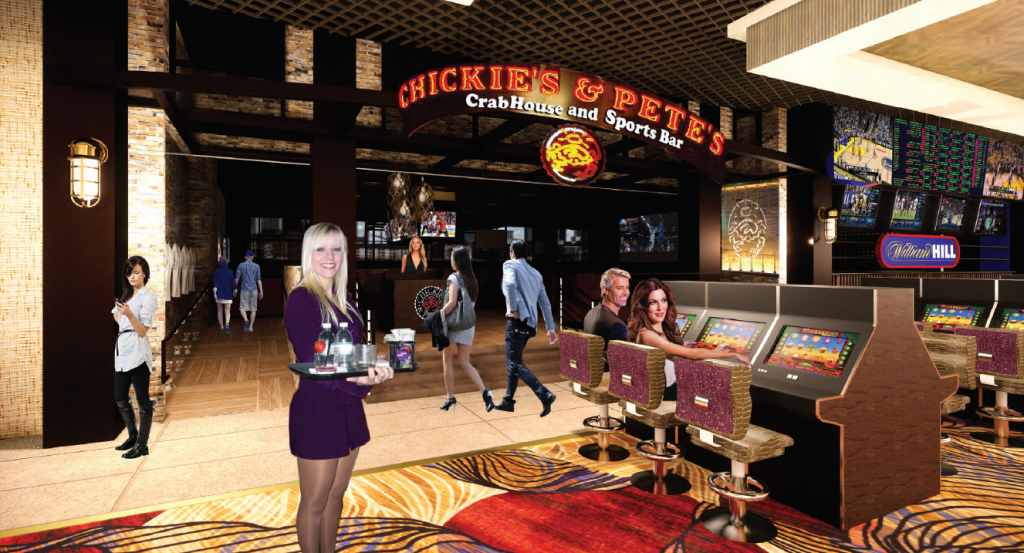 sports bar chickies rendering