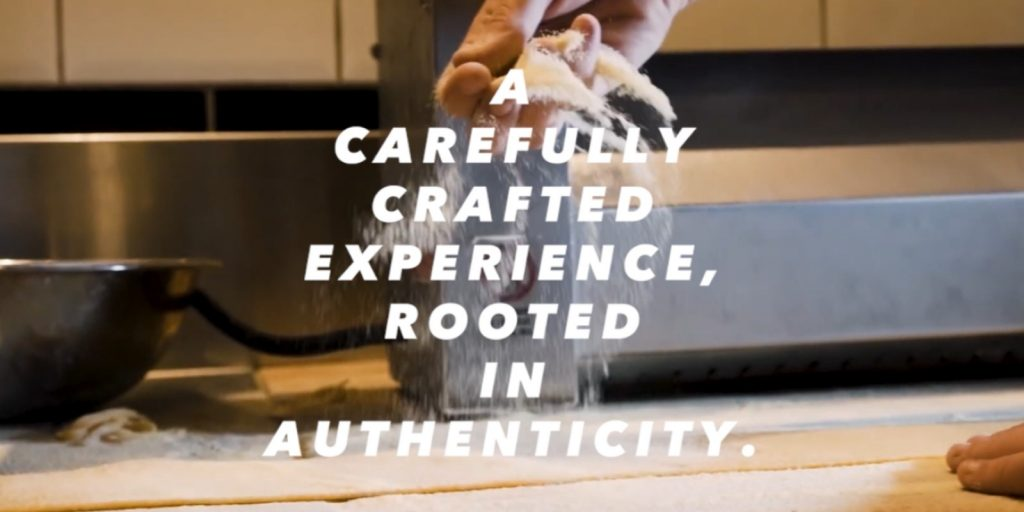 Carefully Crafted Experience Rooted In Authenticity