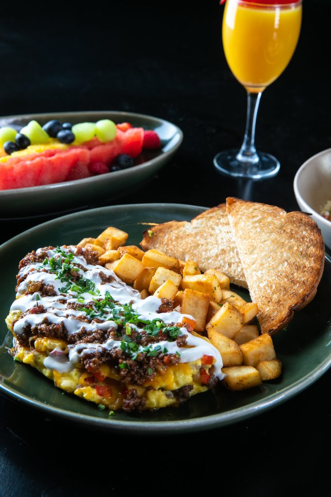 Zeffers Chili Omelet
