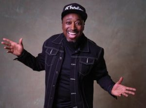 image of eddie griffin with outstretched hands