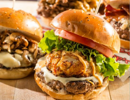 Chickie's & Pete's Tailgate Burger